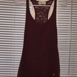 Abercrombie lace tank top